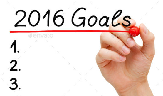 Goals for Year 2016 List